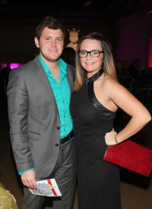 Attending a gala event with my boyfriend, an event that I helped design the programing and invites to. http://nfocusmagazine.com/portfolio/capes-and-crowns-gala/